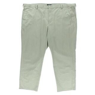 Dockers Mens Big & Tall Woven Flat Front Casual Pants - 46/30
