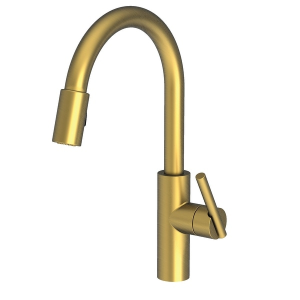 Newport Brass 1500-5103 East Linear Pull-Down Spray Kitchen Faucet. Opens flyout.