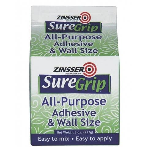Zinsser 62008 All-Purpose Wallcovering Adhesive Powder, 8 Oz