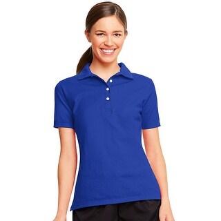 Hanes X-Temp® Women's Polo - Size - 2XL - Color - Deep Royal