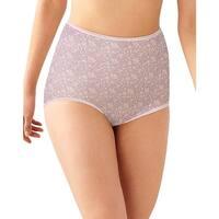 Bali Skimp Skamp Brief Panty - Size - 7 - Color - Pink Chic Print
