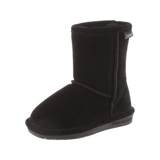 Bearpaw Boots Girls Emma Pull on Stylish Suede Wool