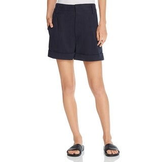 Vince Womens Dress Shorts Slouchy Pleated