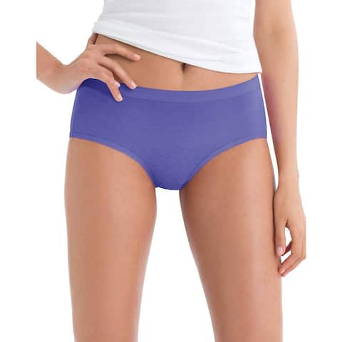662987b319d Hanes Women's No Ride Up Low Rise Cotton Brief 6-Pack - Size - 6
