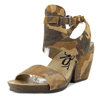 OTBT Lee Women Open Toe Leather Platform Sandal