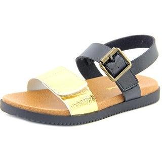 Nina Kathi Youth Open Toe Synthetic Black Sandals
