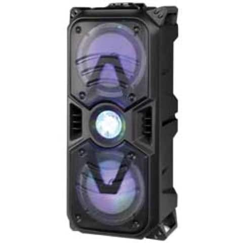Bluetooth DJ Speaker With Disco Lights Black