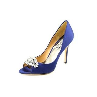 Badgley Mischka Lavender  Women  Open Toe Canvas Blue Sandals