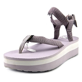 Teva W Flatform Sandal  Women W Open Toe Canvas Purple Platform Sandal