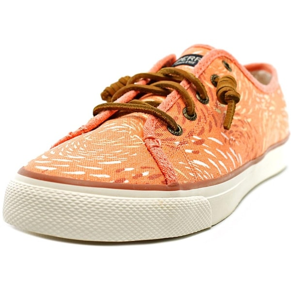 Sperry Top Sider Seacoast Women Canvas Pink Fashion Sneakers