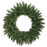 10' Camdon Fir Commercial Size Artificial Christmas Wreath - Unlit - green