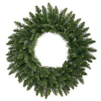 12' Camdon Fir Commercial Size Artificial Christmas Wreath - Unlit - green