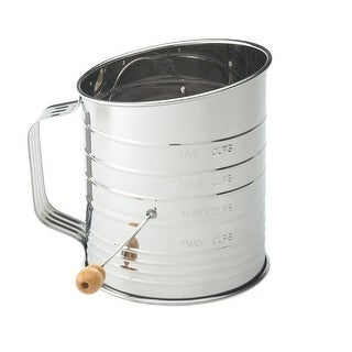 Mrs. Anderson's 28015 Stainless Steel Sifter, 5-Cup
