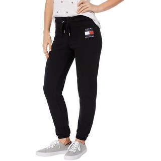 Link to Tommy Hilfiger Womens Logo Casual Sweatpants, black, X-Large Similar Items in Athletic Clothing