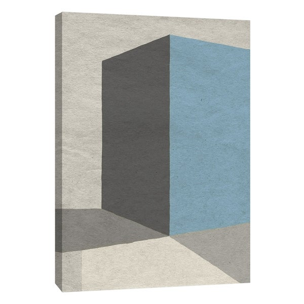 "PTM Images 9-108410 PTM Canvas Collection 10"" x 8"" - ""Linen Geometrics C"" Giclee Patterns and Designs Art Print on Canvas"