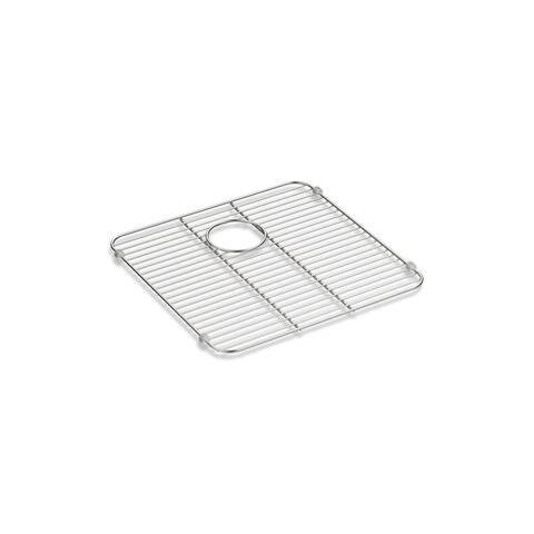 "Kohler K-5184 13-3/8"" x 14-5/8"" Undertone Series Bottom Sink Rack for - Stainless Steel"