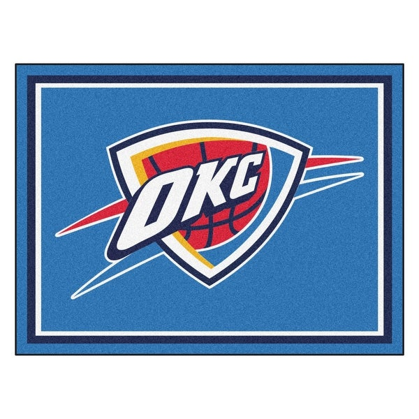 online store 041e9 c1564 Shop NBA Oklahoma City Thunder 8 x 10 Foot Plush Non-Skid ...
