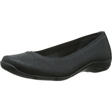 LifeStride Womens Dramatic Round Toe Ballet Flats