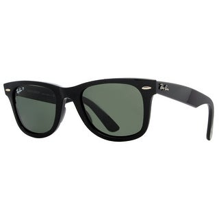 Ray Ban RB2140 901/58 54mm Black Polarized Unisex Wayfarer Sunglasses - 54mm-18mm-150mm