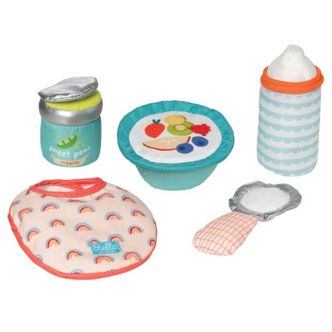 """Stella Collection Baby Doll Feeding Set for 12"""" and 15"""" Dolls"""