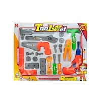 Kole Imports GH388-6 Kids Play Tool Play Set - Pack of 6
