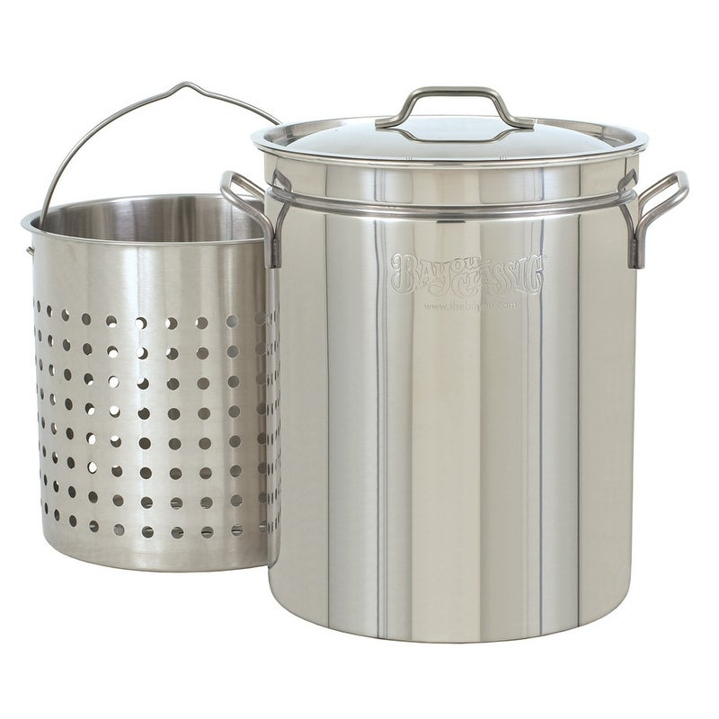 Bayou Classic®  44-qt Stainless Steamer and Boiler Pot