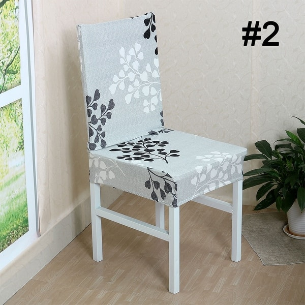 Marvelous Shop Floral Removable Stretch Dining Chair Cover Free Uwap Interior Chair Design Uwaporg