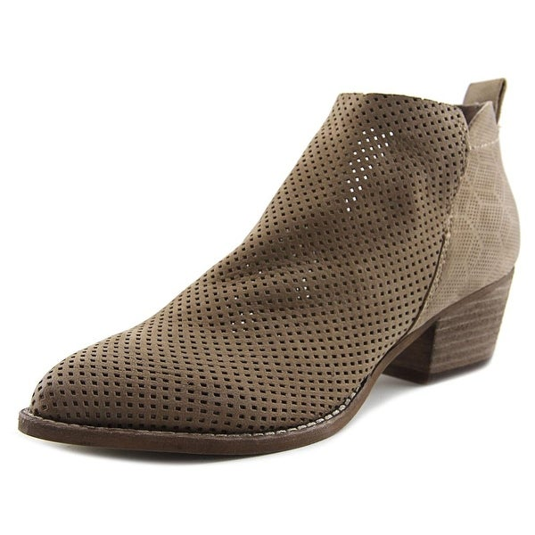 Dolce Vita Sonya Women Pointed Toe Leather Tan Bootie