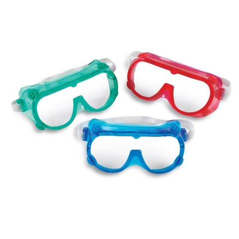 Color Safety Goggles (Set of 6)