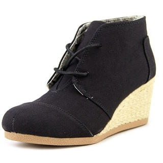 Qupid Olee-11 Women Open Toe Canvas Wedge Heel