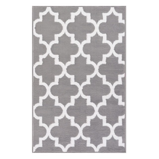 Link to MSRUGS Trellis Collection Contemporary Soft Cozy & Vibrant Mat Rug Similar Items in Rugs