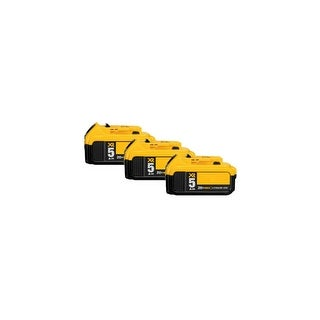 Replacement Battery For DeWalt DCF885C2 Power Tools - DCB205 (5000mAh, 20V, Lithium Ion) - 3 Pack