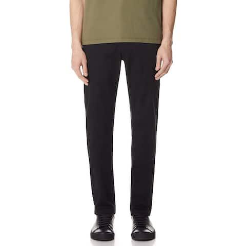 RVCA Mens Pants Black Size 36X33 Chinos Slim Straight Weekend Stretch