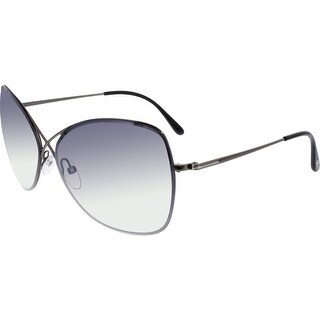 Tom Ford Women's Gradient Colette FT0250-08C-63 Grey Butterfly Sunglasses