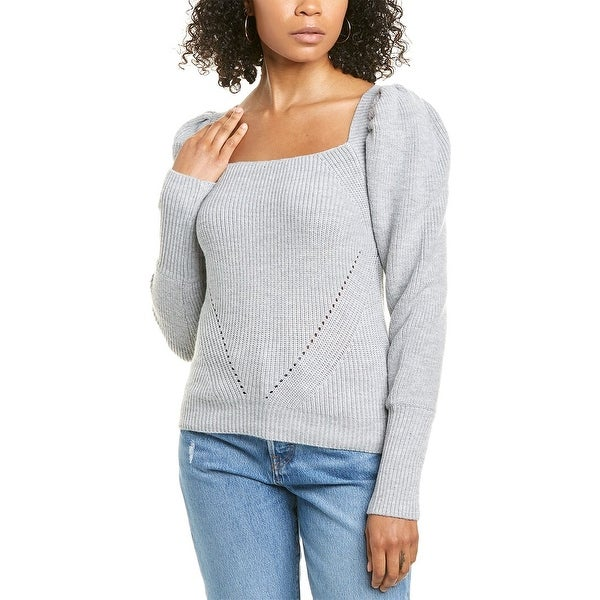 Wayf Square Neck Sweater. Opens flyout.