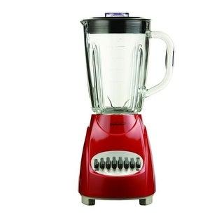 Brentwood JB920R 12 Speed Blender Glass Jar -Red