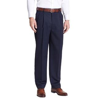 Ralph Lauren Total Comfort Pleated Dress Pants Navy Blue 36W x 34L - 36