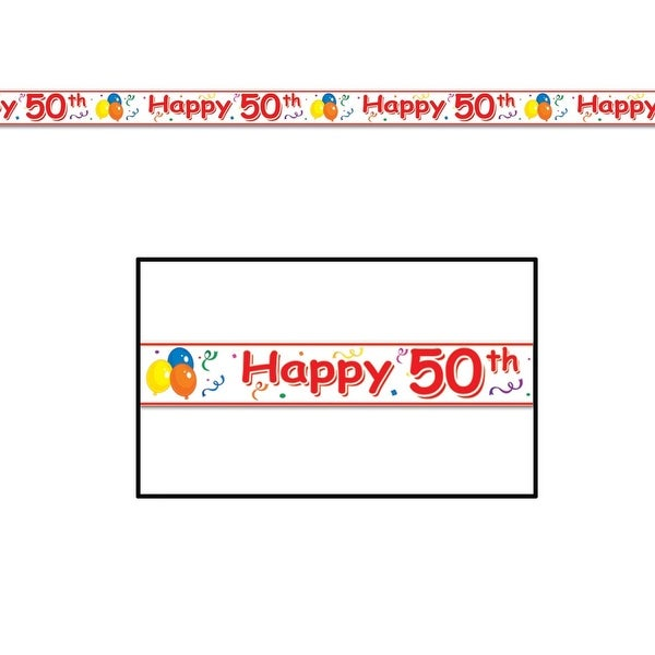 Club Pack Of 12 X27x27Happy 50thx27
