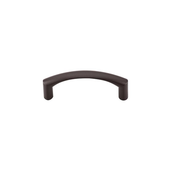"""Top Knobs M1708 Griggs 3"""" Center to Center Handle Cabinet Pull from the Nouveau Series - Oil Rubbed bronze"""