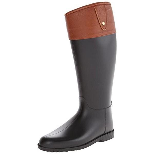 Dirty Laundry Womens Raffie Rain Boots Knee-High Round Toe