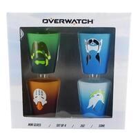 Overwatch Shot Glass 4-Pack - Multi
