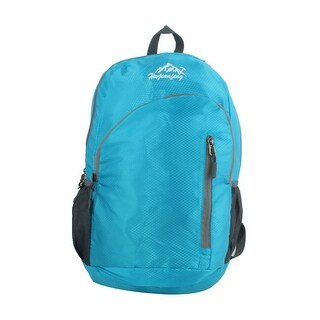 Lightweight Travel Backpack Folding Hiking Camping Daypack Sports Bag Blue