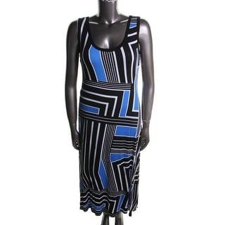 Calvin Klein Womens Jersey Pattern Casual Dress - 6
