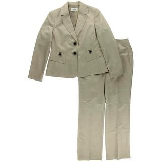 Le Suit Womens 2PC Notch Collar Pant Suit