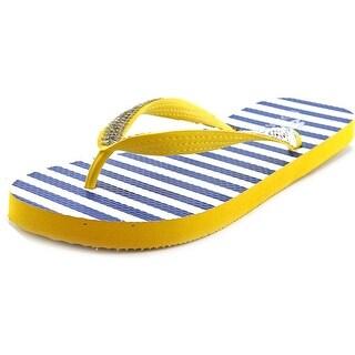 Nomad Flare Open Toe Synthetic Flip Flop Sandal