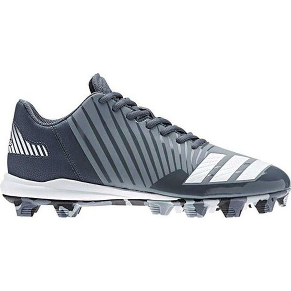 c1379e641e5e1 Shop adidas Men's Icon MD Baseball Cleat Onix/FTWR White/Light Grey ...