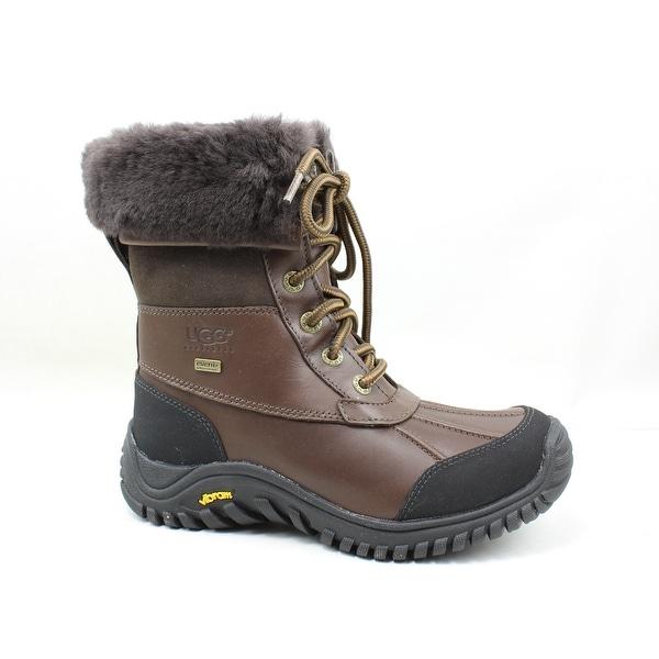 3aeb10f7b9e Shop UGG Womens Adirondack Ii Obsidian Snow Boots Size 5 - On Sale ...