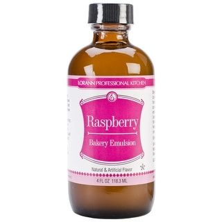 Bakery Emulsions Natural & Artificial Flavor 4oz-Raspberry - Pink
