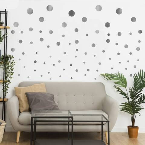 Walplus Polka Dots Wall Sticker Big Wall Home Decoration Nursery Décor
