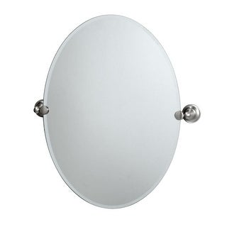 Gatco GC4339 Oval Mirror from the Tiara Series - N/A